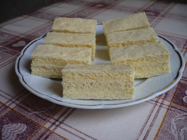 Vaníliás szelet