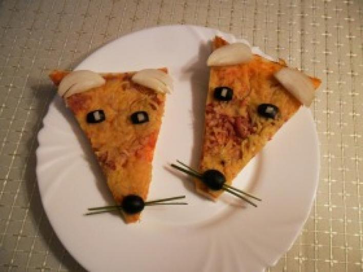 Rókás pizza