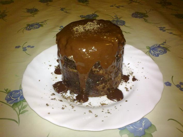 5 perces bögrés süti, mikróban