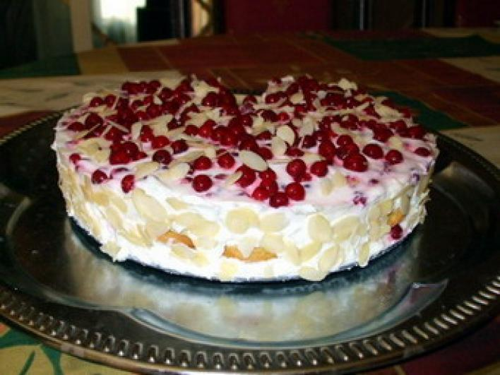 Citromos, ribizlis torta