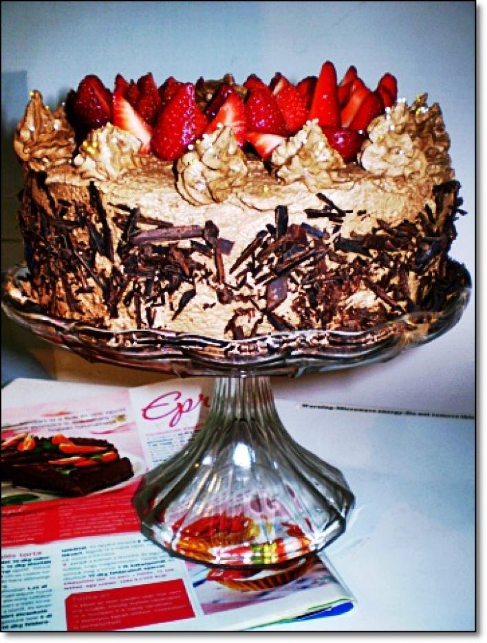 Epres csokoládétorta