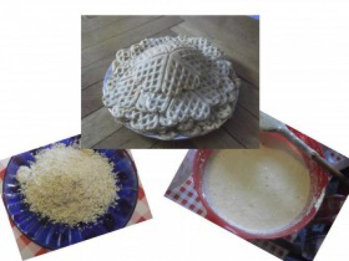 Fűszeres sütőtökös gofri