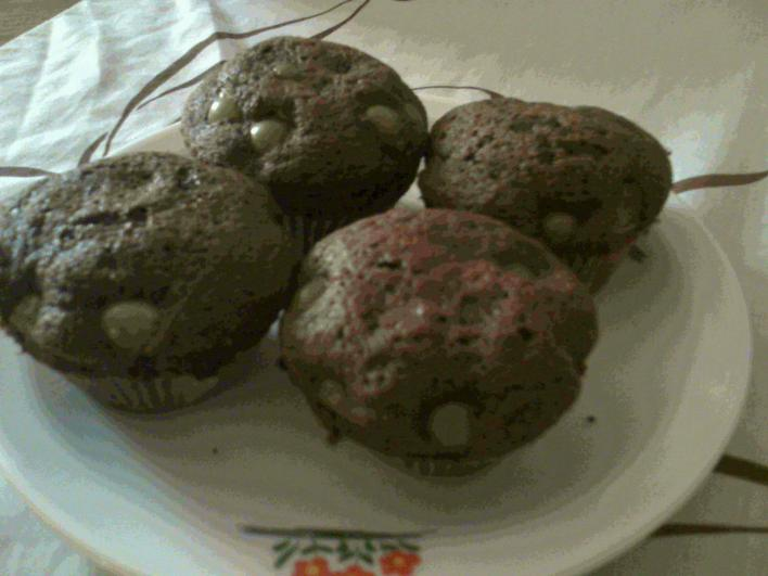 Szőlős muffin