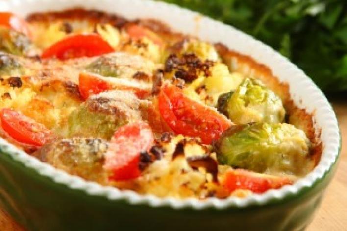 Csőben sült zöldségek
