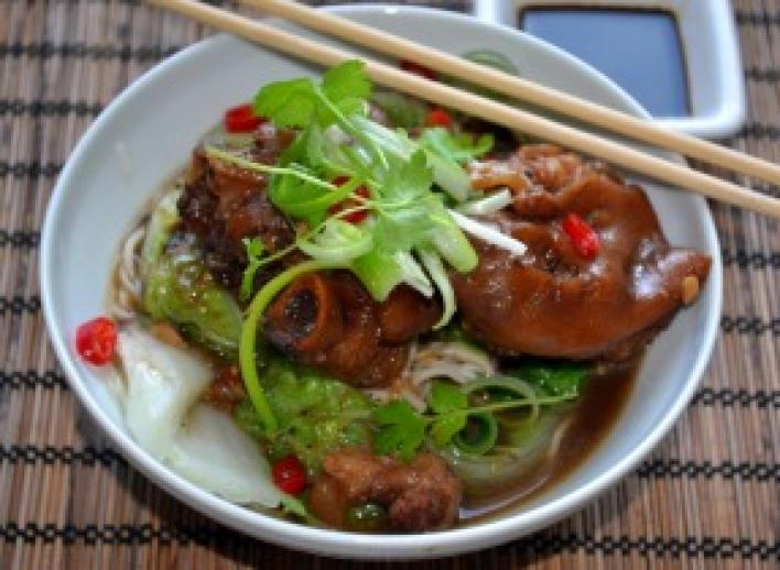 Sertésköröm kínai módra