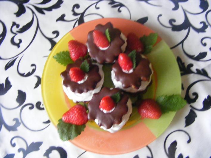 Csokis-habos virág