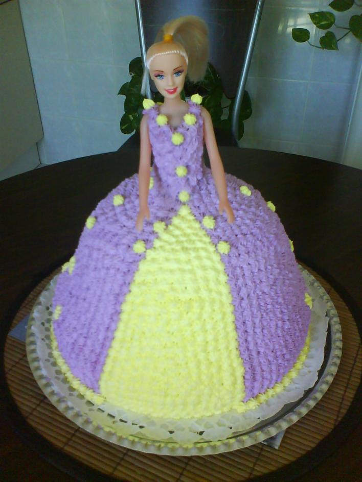 Barbie torta (Túró torta)