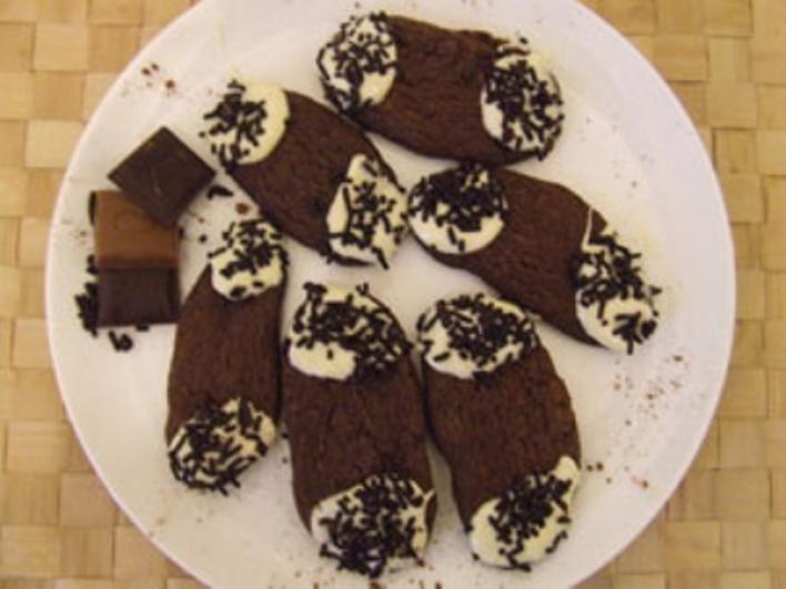 Tripla csokis rudacskák