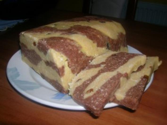 Foltos kekszes süti