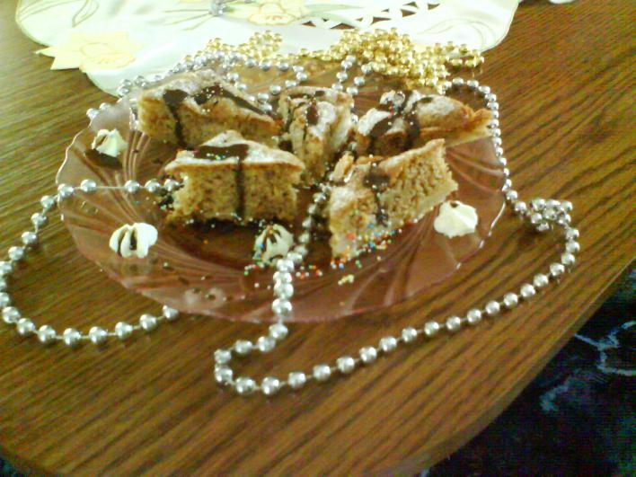 Diós-almás sütemény