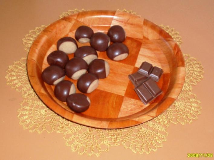 Gesztenye csokiburokban