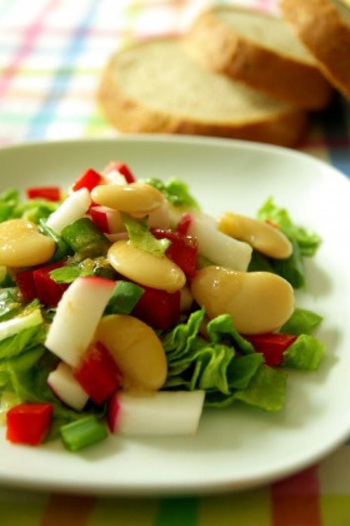 Babos saláta