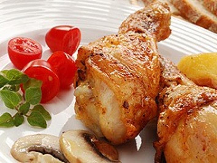 Csípős csirkecombok