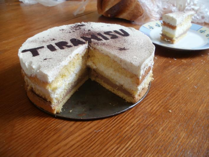 Mascarponés tiramisu torta