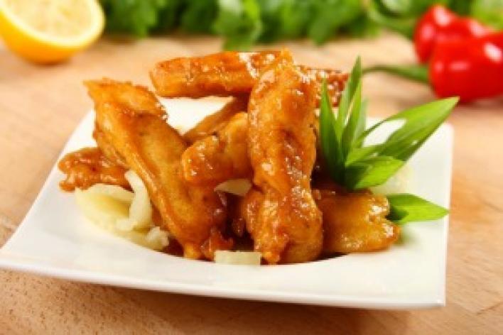 Kínai mézes sertéscsíkok