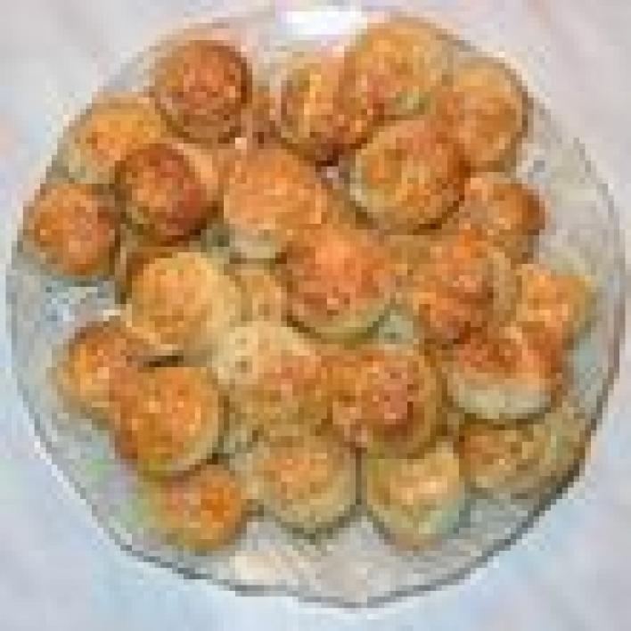 Sajtos-túrós-juhtúros pogácsa
