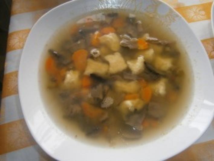 Zöldségleves kicsit másképp, krumpligombóccal