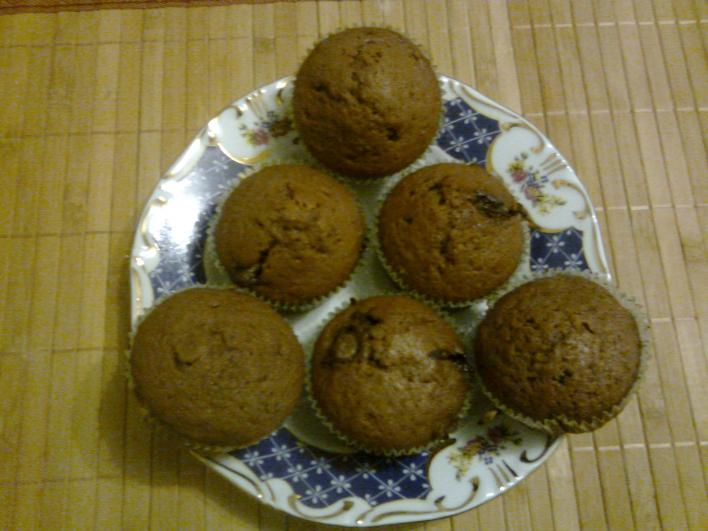 Csokis muffin