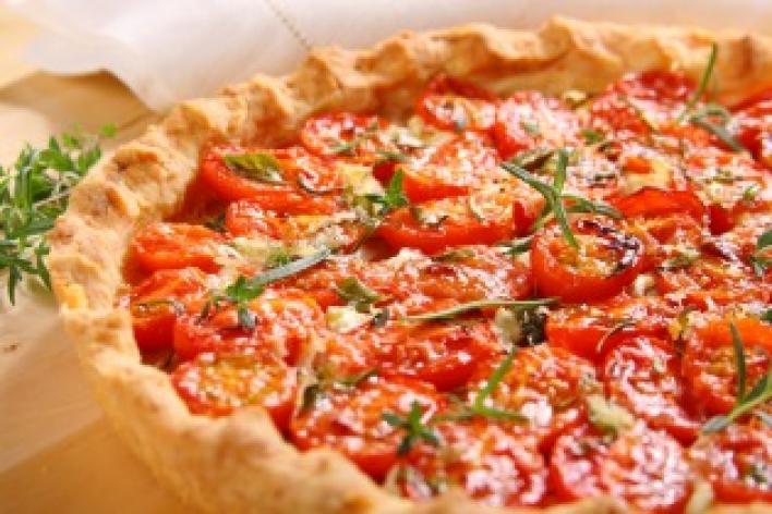 Provanszi paradicsomos pite