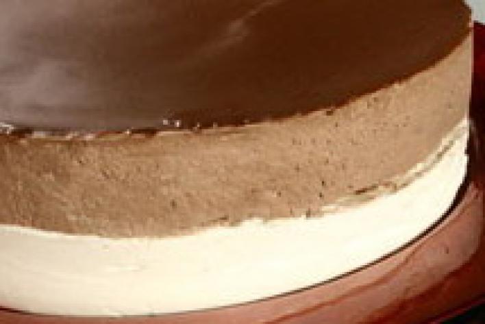 Csokoládés habtorta