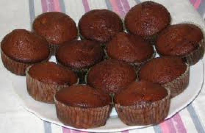 Csokis meglepetés muffin
