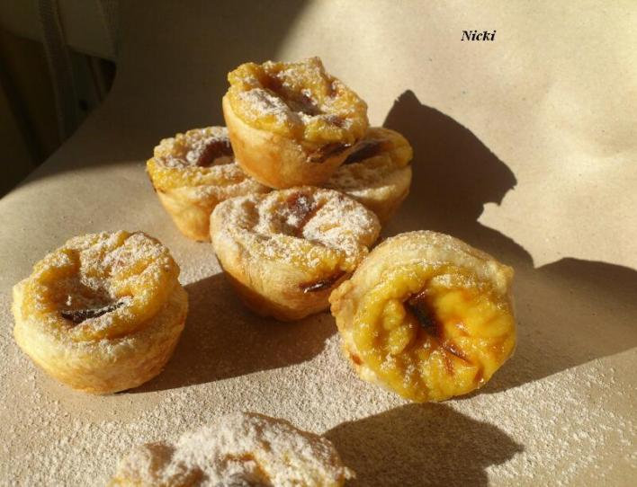 Portugál finomság (Pastéis de Nata)