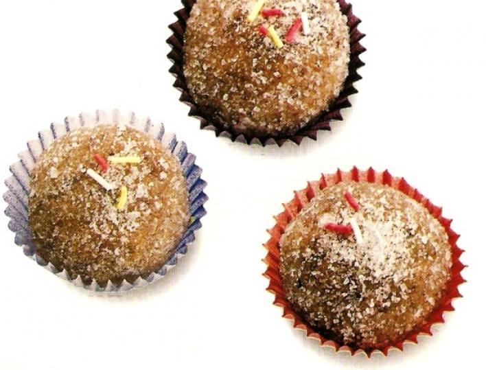 Meggyes-csokis golyó
