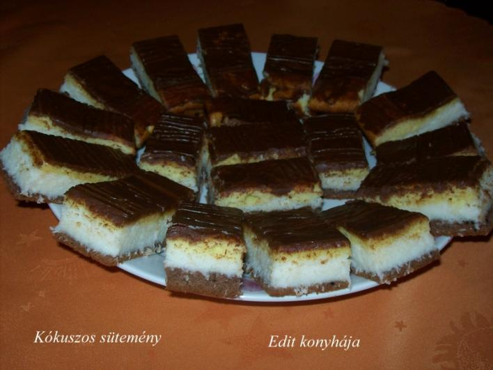 Kókuszos sütemény