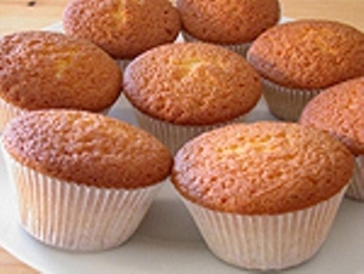 Vaníliás (alap) muffin