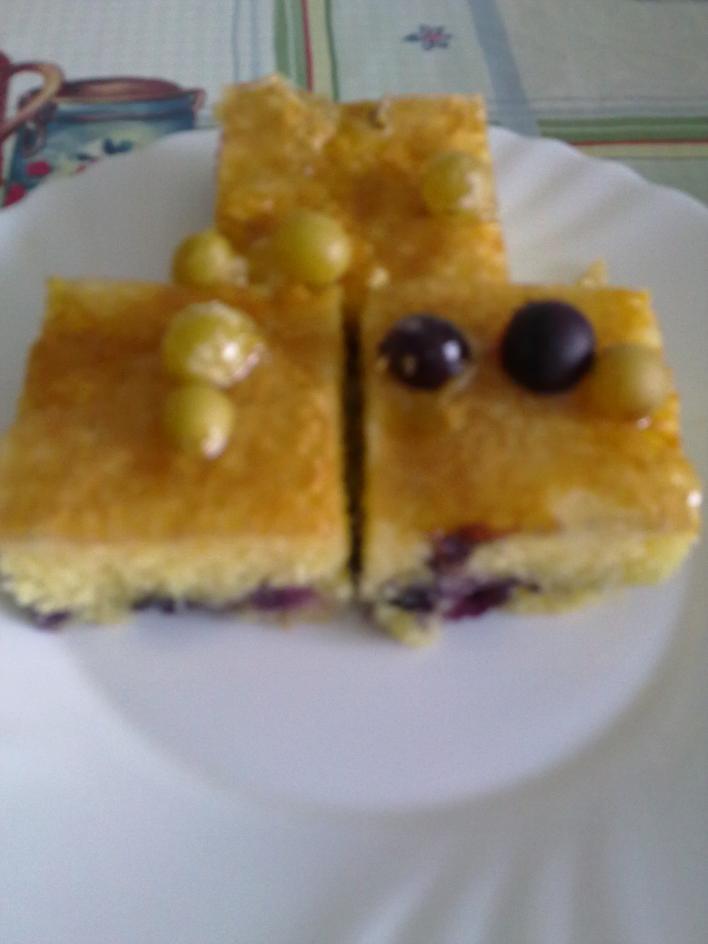 Szőlős sütemény