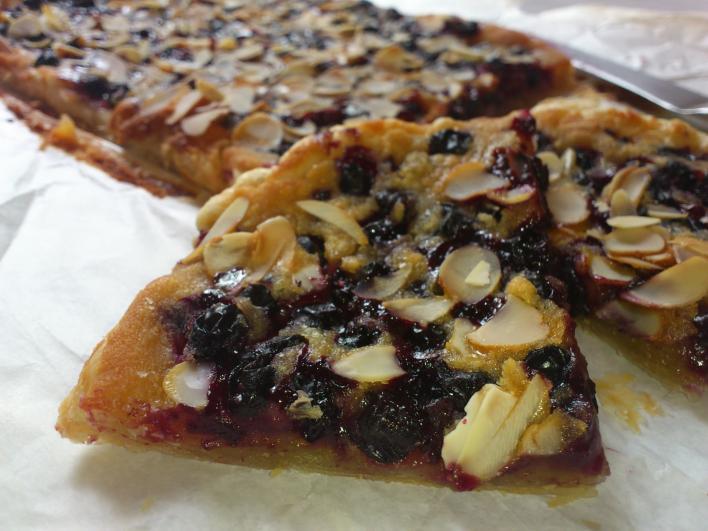 Feketeribizlis pite