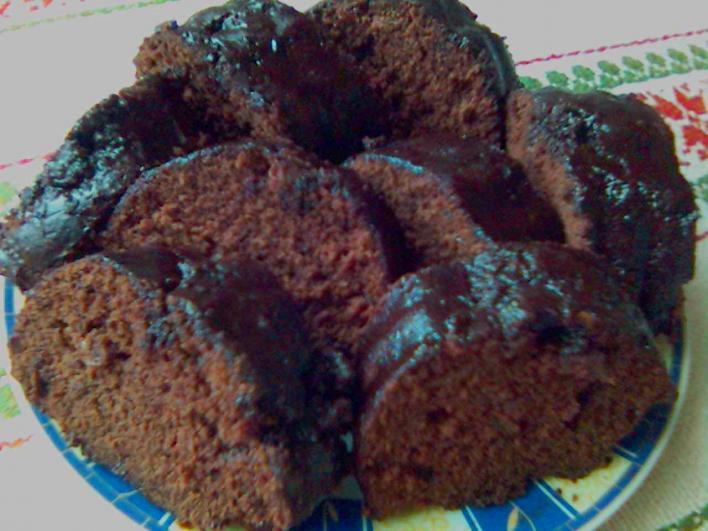 Mazsolás brownie