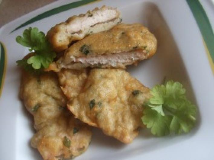 Fűszeres krumplibundában sült karaj
