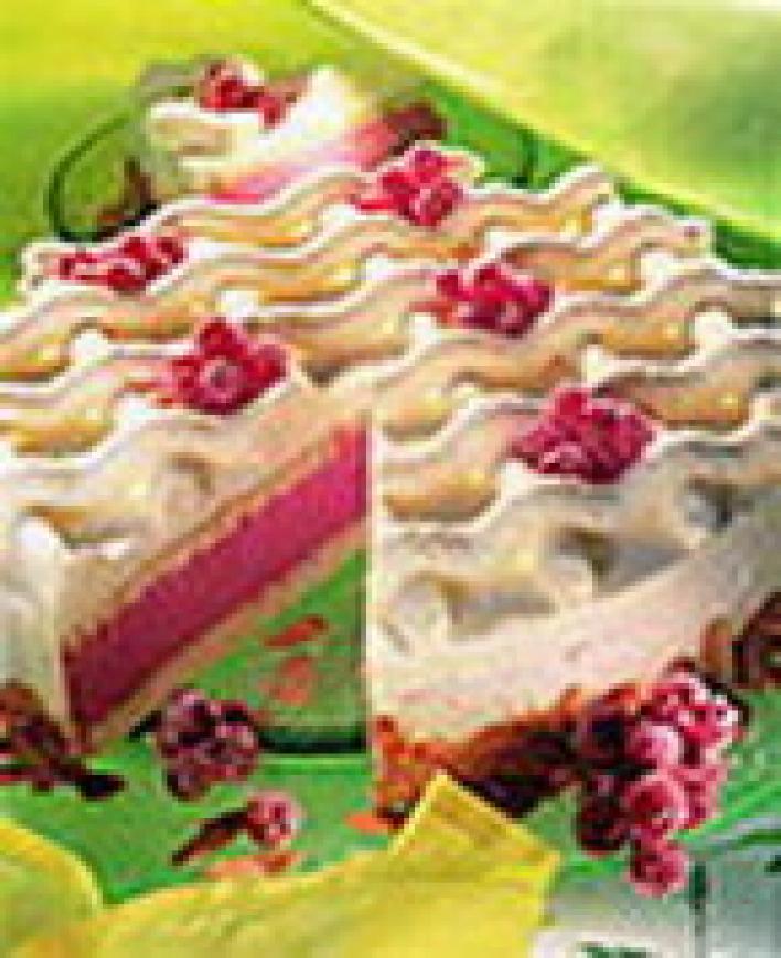 Ribizlis-joghurtos torta