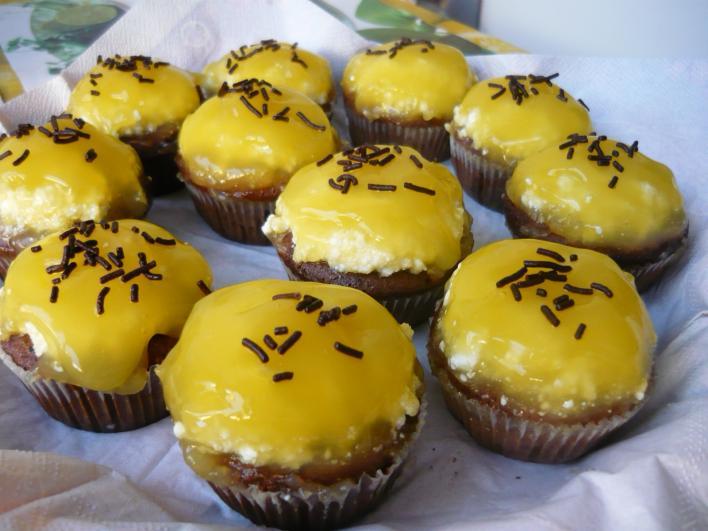 Narancsos, üdítős muffin