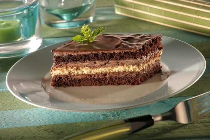 Mentás csokoládészelet