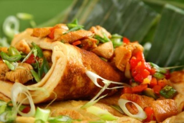 Thai omlett