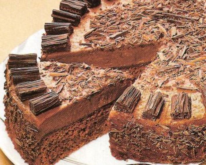 Szuper csokis torta