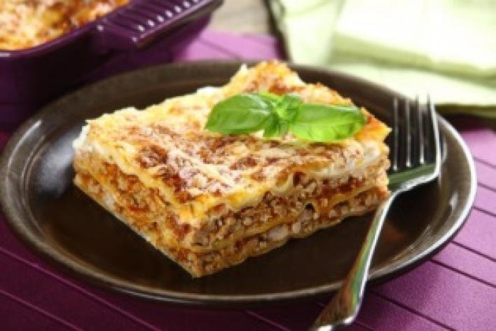 Lasagne Bolognese aszalt paradicsommal