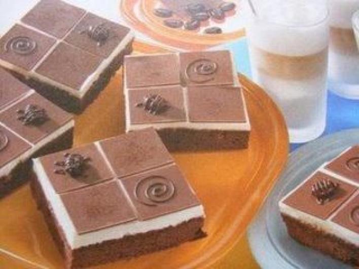 Csokis túrós kocka