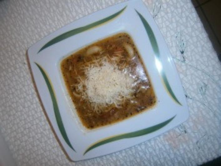 Olasz zöldbableves