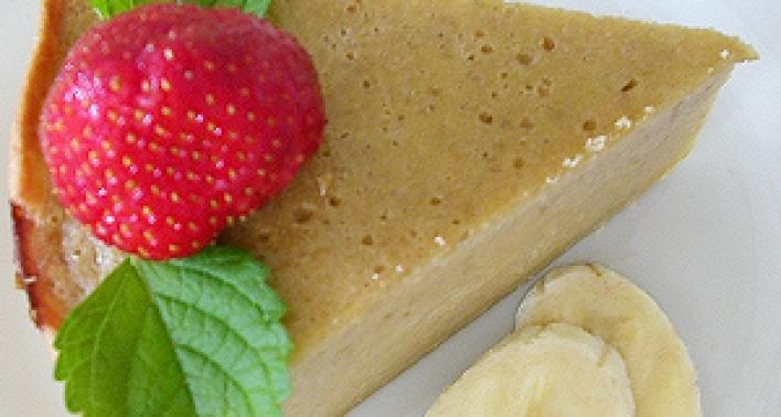 Banánkrémes pite