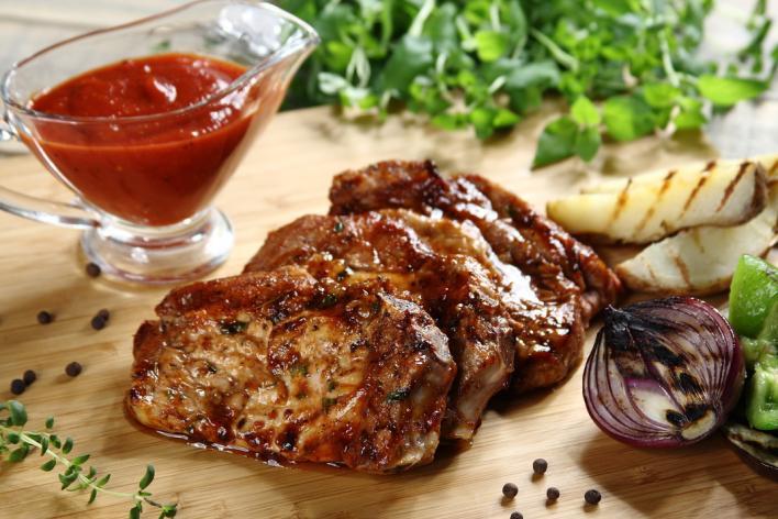 Chilis grillezett sertéskaraj