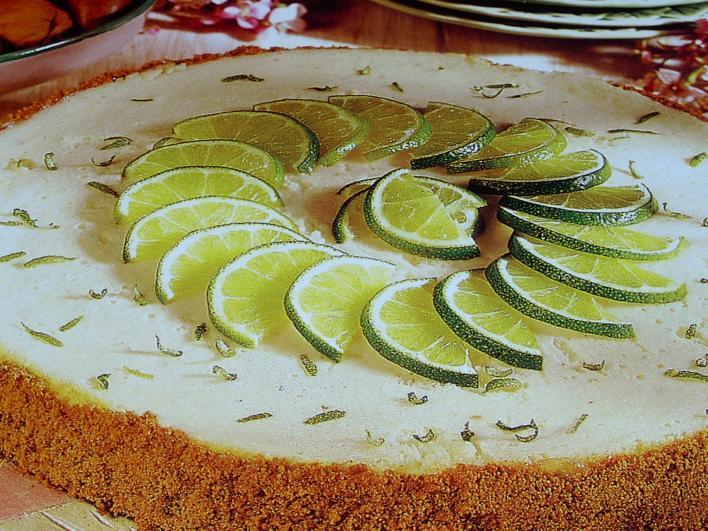 Zöldcitromos sajttorta