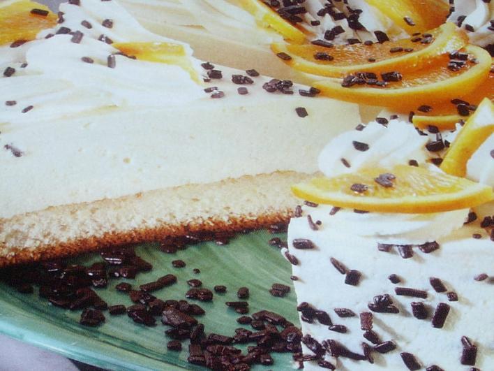 Narancsos-tejszínes torta
