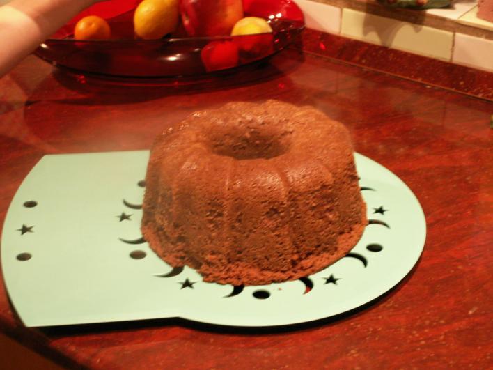 Mogyorós-csokis kuglóf