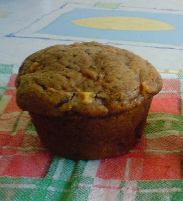 Kávés-csokis muffin