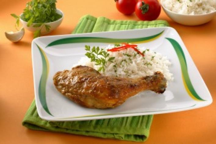 Édes curry-s csirke