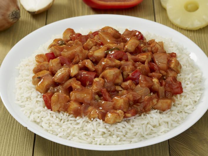 Kínai édes savanyú csirke
