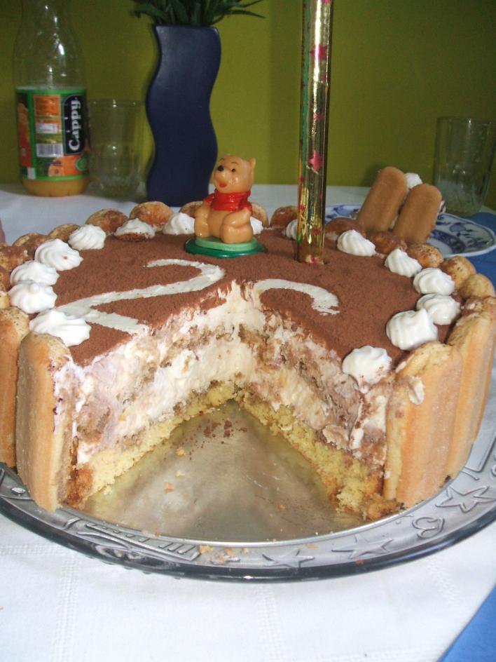 Mennyei Tiramisu torta